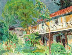Pierre Bonnard / Ciel d' été