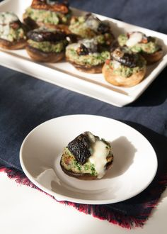 Stuffed with Fig, Bacon, Spinach and Blue Cheese -- these one-bite ...