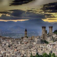Beautiful medieval borgo of Pacentro, Abruzzo (Italy) Via Tastefromabruzzo