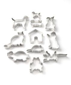Pet Cookie Cutter Set//