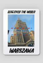 Ogłoszenie w serwisie TuDodam.pl: Discover the World - Warszawa Podkładka pod mysz
