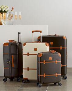 Vintage looking hard side Luggage