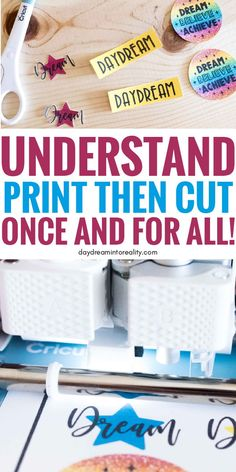 Learn - Whether you have Maker or Explore - how to Print and Cut images with your Cricut. Today you are going to learn - whether you have Maker or Explore Cricut Help, Cricut Air, Cricut Vinyl, Mason Jar Crafts, Mason Jar Diy, Cricut Print And Cut, Shilouette Cameo, Cricut Craft Room, Cricut Tutorials