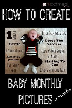 Little Cwas one month old on Monday! That month went by so fast, and at the same time seemed so long. Those first few weeks with a newborn is always an adjustment. I plan on still trying to do the monthly pictures and update. With Big C, I used a chalkboard and wrote updates on …
