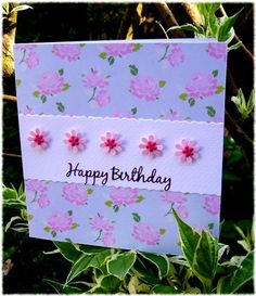 Shabby Chic Card Making