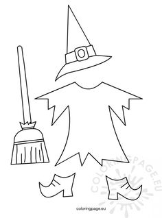 Halloween - Page 2 of 17 - Coloring Page Moldes Halloween, Halloween Templates, Manualidades Halloween, Adornos Halloween, Halloween Quilts, Halloween Crafts For Kids, Halloween Pictures, Diy Halloween Decorations, Halloween Art