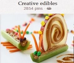 My mother told me not to play with my food....but i have to make these !