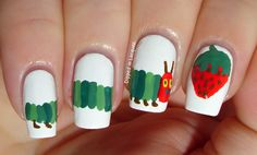 Dipped in Lacquer - The Very Hungry Caterpillar