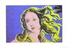 Andy Warhol - Venus blue