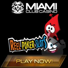 Reel Poker Slots LIVE @ Red Stag Casino and Miami Club Casino