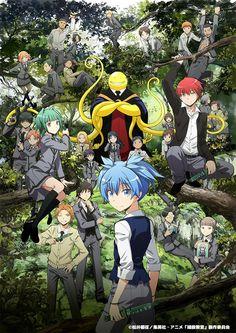La segunda temporada de Ansatsu Kyoushitsu cubrirá el final del Manga.
