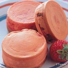 草莓車輪餅食譜 - 其他點心料理 - 楊桃美食網 專業食譜