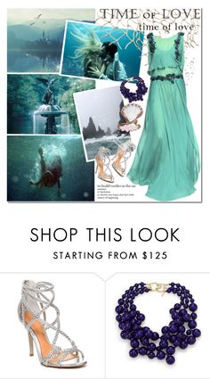 """""""Time of Love"""" by beograd-love ❤ liked on Polyvore featuring ESPRIT, Badgley Mischka, Kenneth Jay Lane and Alberta Ferretti"""