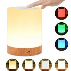 Lamps Plus Ceiling Fans Touch Lamps Bedside, Bedside Lamps For Bedroom, Table Lamp Wood, Solid Wood Table, Lampe Tactile, Sensor Night Lights, Rustic Lamps, Industrial Lamps, Old Lamps