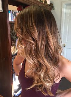 Most Appealing Hair Colors for Summer 2017 Caramel Balayage ♥ ☼☼ ♥ ☆ ☆▲▲ツ