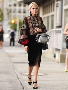 【ELLE】ミロスラヴァ・デュマ|【毎日更新】2017春夏ニューヨークコレクションスナップ総覧|エル・オンライン