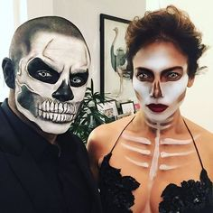 Jennifer Lopez and Casper Smart Are Scary Sexy on Halloween
