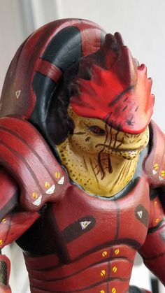 Urdnot Wrex from Mass Effect by Arnaud Rousseau