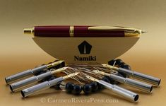 We specialize in modern, rare, collectible and limited edition fountain pens, rollerballs, ballpoint pens and pencils.