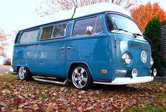 German Look Camper Bus