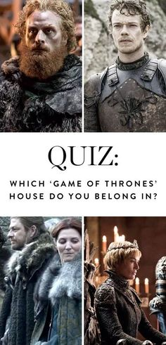 Which 'Game of Thrones' House Do You Belong In? via @PureWow