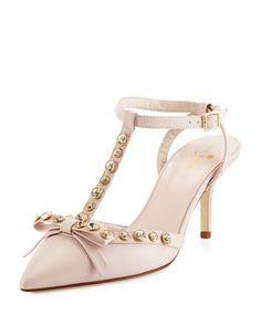 Kate Spade New York Bow Heels in Petal Pink   Pink   Pinterest