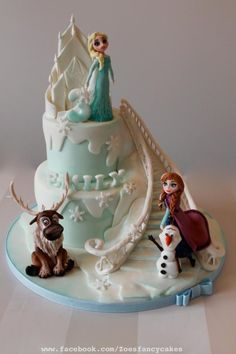 Another Frozen cake  by Zoe's Fancy Cakes