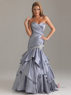 Column Sweetheart Floor-length Elastic Woven Satin Popular Prom Dress with Rhinestone