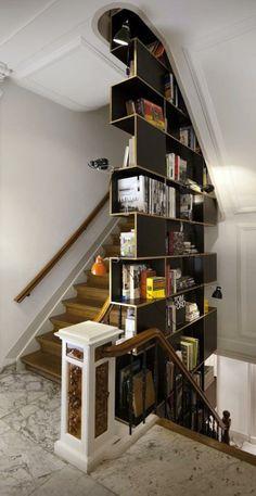 Interesting bookcase...