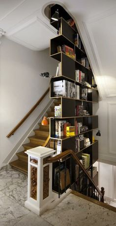 Interesting bookcase...