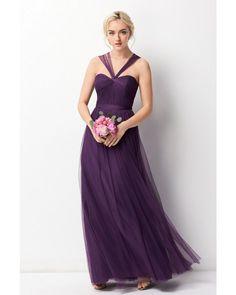 WTOO 243 Bridesmaid Dress -   Dress is convertible!