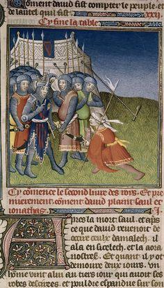 David and the Amalekite