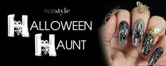 Nailstyle   Halloween Haunt  It's time to get your spook on this October in the Nailstyle Halloween Haunt! Upload your ghoulishly grand designs for a chance to win a $25 gift card to Ulta Beauty.