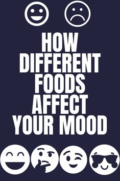Food affects our mood too. Certain foods release hormones that control our mood. Below is a list of various foods and how they impact your mood. Fat To Fit, Lose Fat, Lose Weight, Weight Loss, Pms, Different Recipes, Caffeine, Tasty, Diet