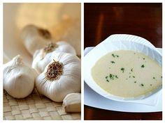 Supă de Usturoi Anti-Infecții Mai, Soups, Garlic, Vegetables, Food, Essen, Soup, Vegetable Recipes, Meals