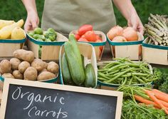 The Clean 15 and the Dirty Dozen:  Fruits and veggies with the most and least pesticide residue.