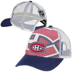 Mens Montreal Canadiens Reebok White 2014 NHL Draft Adjustable Hat