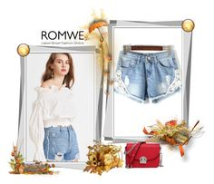 """""""Romwe"""" by eelmaa ❤ liked on Polyvore"""