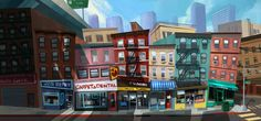 City street by Alex Haelis ★ Find more at http://www.pinterest.com/competing/