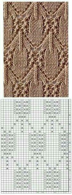 Kira #knitting: Knitted pattern no. 191