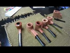 How to make a briar pipe using a drill press & lathe