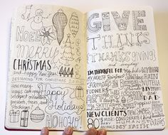 Sketchbook Project - A Day in the Life by ecdesignz, via Flickr
