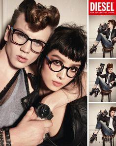 Photo feat. Fei Fei Sun - Diesel - Autumn/Winter 2012 Ready-to-Wear - Fashion Advertisement   Brands   The FMD #lovefmd