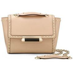 DIANE VON FURSTENBERG 440 Mini Studded Leather Crossbody Bag ...