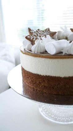 Piece Of Cakes, Xmas, Christmas, Vanilla Cake, Sweet Tooth, Cheesecake, Food And Drink, Desserts, Recipes