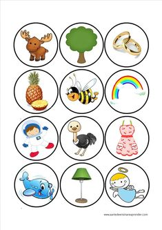 Owls Count and Clip Cards: Numbers Learning Activities, Kids Learning, Activities For Kids, Speech Therapy Games, Kindergarten, My Little Baby, Elementary Art, Kids Education, Pre School