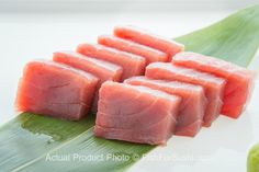 Deliver premium sushi-grade Yellowfin Tuna (9 oz) to your door!  It's fully traceable and comes from a sustainable fishery. It is stored in freezers at temperature of minus 76 degrees Fahrenheit within an hour of catching to preserve the best possible quality.  Order now at FishforSushi.com