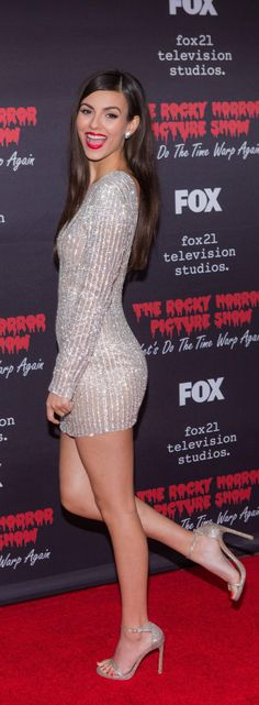 "( ☞ 2017 ★ HOT CELEBRITY WOMAN  ★ VICTORIA JUSTICE IN A MINISKIRT AND HIGH HEELS "" Pop ♫ "" ) ★ ♪♫♪♪ Victoria Dawn Justice - Friday, February 19, 1993 - 5' 5½"" 117 lbs 34-23-32 - Hollywood, Florida, USA."