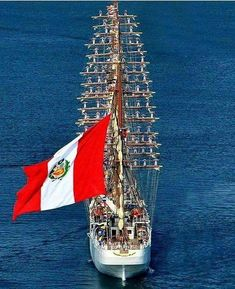 """BAP UNIÓN"" (BEV-161) a (379') 4-Masted Peruvian Barque – Commissioned: 27 January 2016 – Crew: 250 Officers and Trainees – Used as a Training Ship for Instruction of its Cadets. Accordingly, the Peruvian Government Enacted 1985 Law N° 24094"
