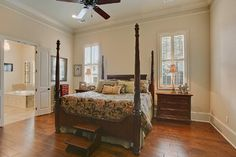 Traditional Master Suite - traditional - bedroom - new orleans - Highland Homes, Inc.